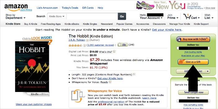 select kindle ebook