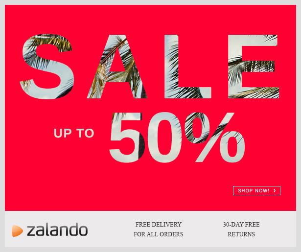 Zalando UK Summer Sale up 50% OFF