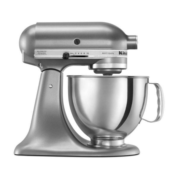 KitchenAid KSM150PSCU Artisan Series 5-Qt. Stand Mixer with Pouring Shield - Contour Silver