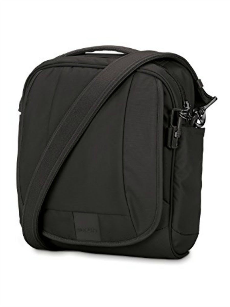 Pacsafe Metrosafe LS200 Anti-Theft Shoulder Bag - Black